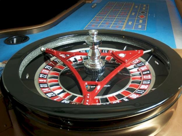 Level segitiga untuk roda roulette