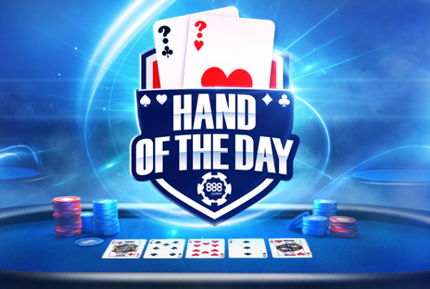 Menangkan Hingga $ 1.000 dengan Hand of the Day 888poker