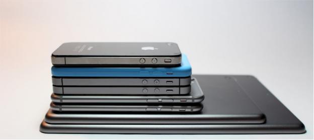 Tumpukan perangkat seluler