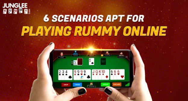 7 Skenario Apt untuk Bermain Rummy Online