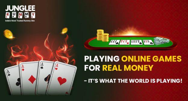 Bermain Game Online untuk Uang Sungguhan - Itulah yang Dunia Bermain!  -