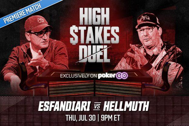 "Esfandiari vs Hellmuth di New PokerGO ""High Stakes Duel"" Show;  Kesepakatan NBC Diperbarui"