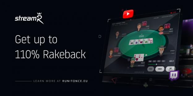 Hasilkan Rakeback Hingga 110% dengan Streaming Aksi Poker Anda di Run It Once