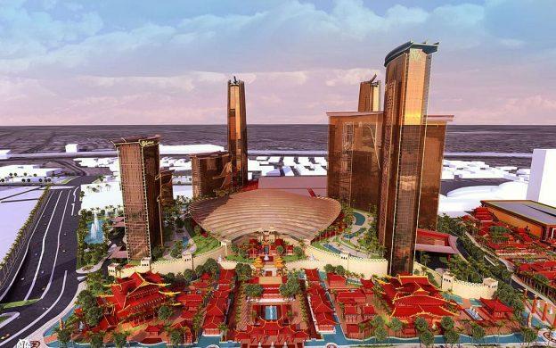 Las Vegas berencana untuk kasino baru.