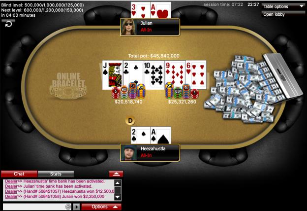 "Terrell ""Heezahustla"" Cheatham Menangkan Event Online WSOP 2020 # 16: $ 500 Turbo Hold'em Tanpa Batas ($ 116.204)"