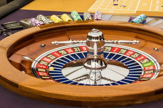 Tampilan sisi roda Roulette