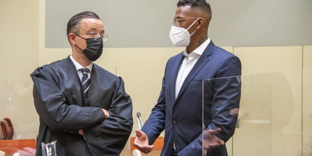 Jerome Boateng in court