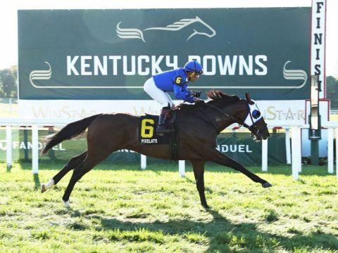 Joel Rosario-Kentucky Downs record